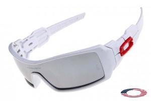 c15aff3eac2 Quick View · Cheap Oakleys Oil Rig sunglasses White   Silver iridium