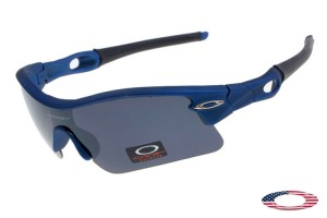 9ee0184e6cc Quick View · Cheap Oakleys Radar Pitch sunglasses Blue   Gray Iridium. Sale