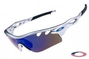 74f7c6bc90 Quick View · Cheap Oakleys Radarlock Path Sunglasses Silver   Ice iridium.  Sale