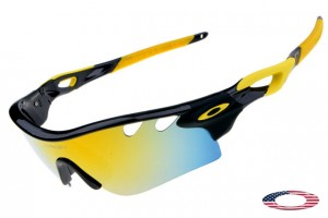 30703ee65a Fake Oakleys Radarlock Path sunglasses black   fire iridium