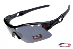 f4476ecaade Quick View · Fake Oakleys Radarlock Pitch Sunglasses Black   Dark Grey. Sale