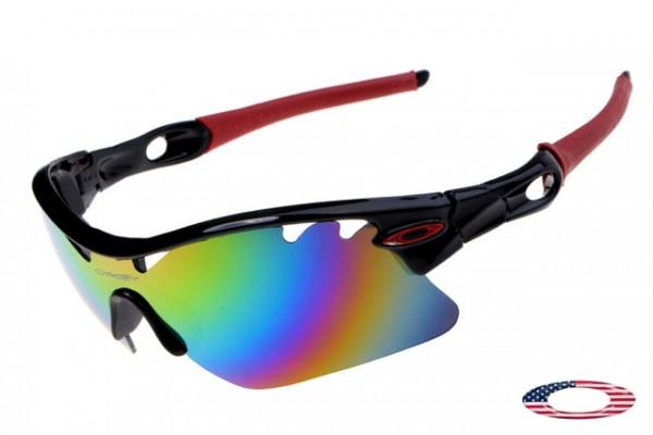 b6f4b5248581 Copy Oakley Radarlock Pitch sunglasses black / camo iridium,fake Oakleys  Sale