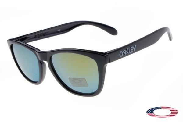 17e3edb53a Discount Knockoff Oakley Frogskins Sunglasses black   jade iridium ...