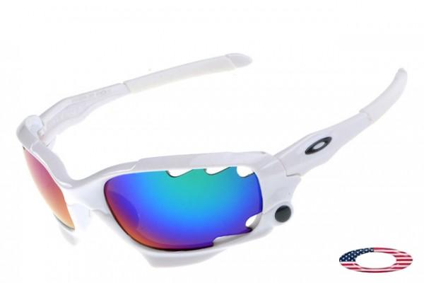 4f294462e6c Buy Cheap Fake Oakley Racing Jacket Sunglasses White   Ice Iridium